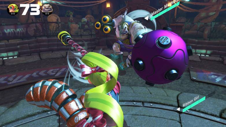 ARMS Global Testpunch gameplay video