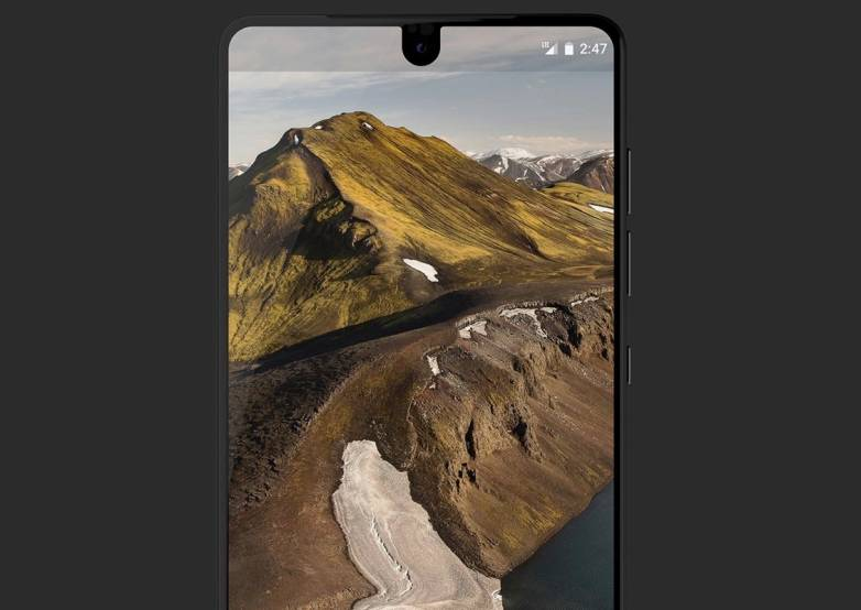 Essential vs. iPhone 8 Design