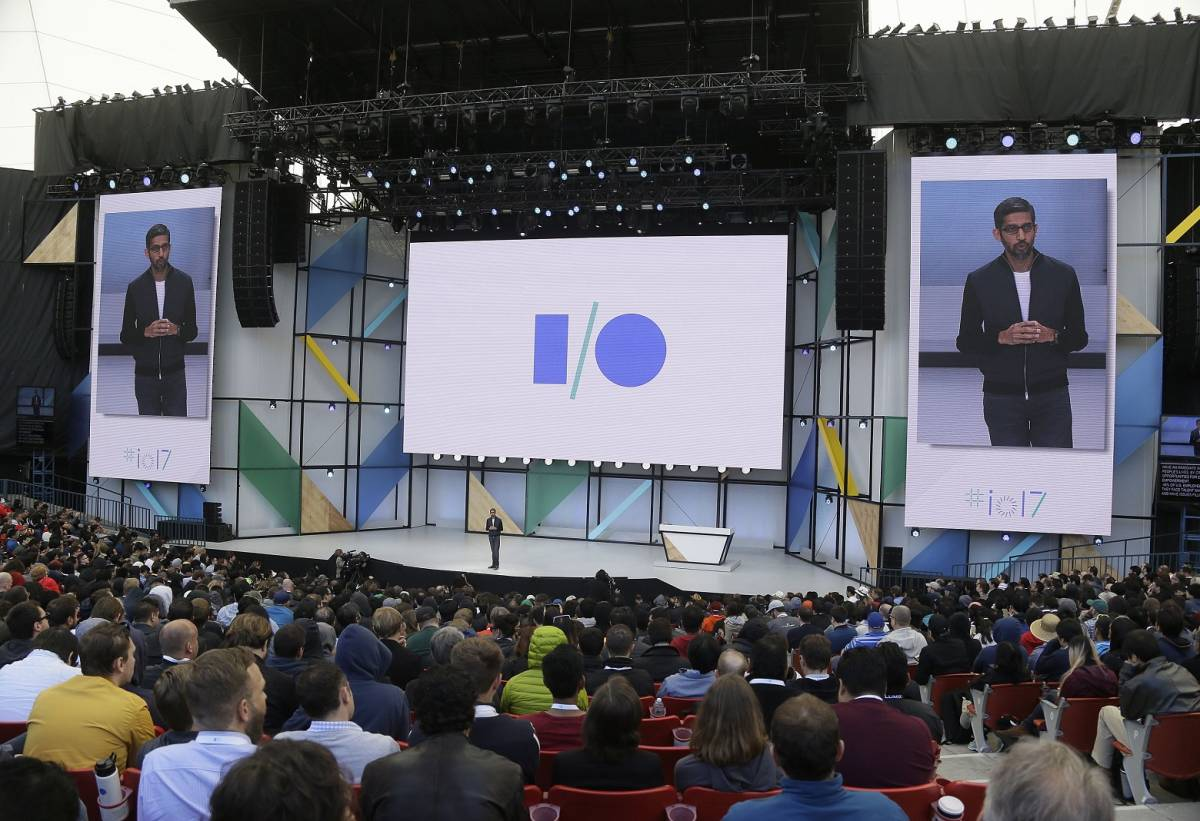 Google I/O 2017 keynote live stream day 2