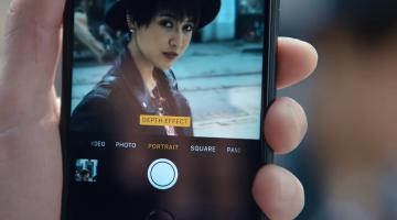 iPhone 7 Plus Portrait mode commercial