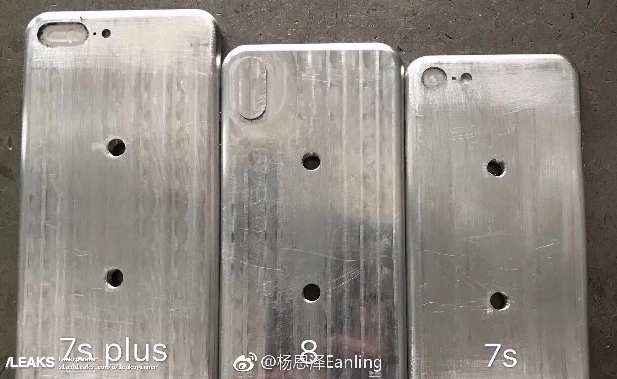 Leaked iPhone 8 mold suggests device will be slightly larger than the <b>iPhone 7</b>