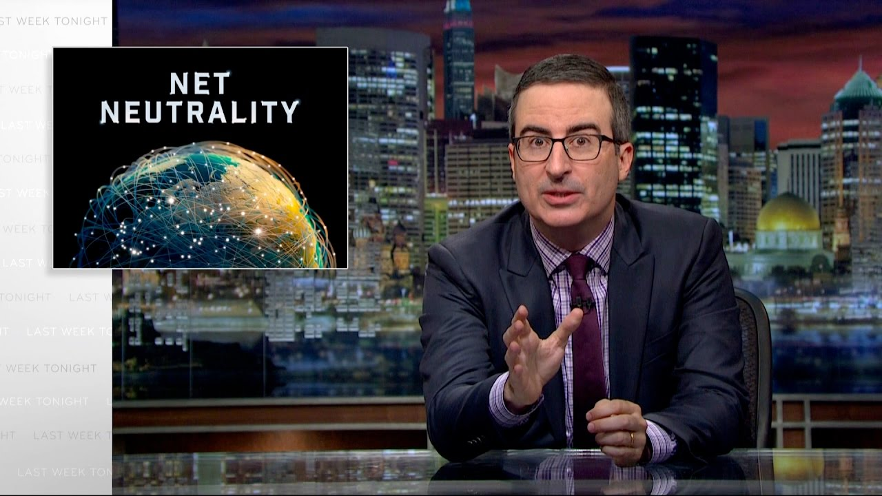 John Oliver Rants on Arcane Subject Critical to Us All - Net Neutrality