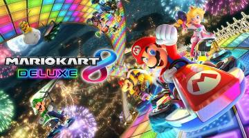 Mario Kart 8 Deluxe Switch sales