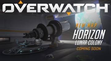 Overwatch new map: Horizon Lunar Console