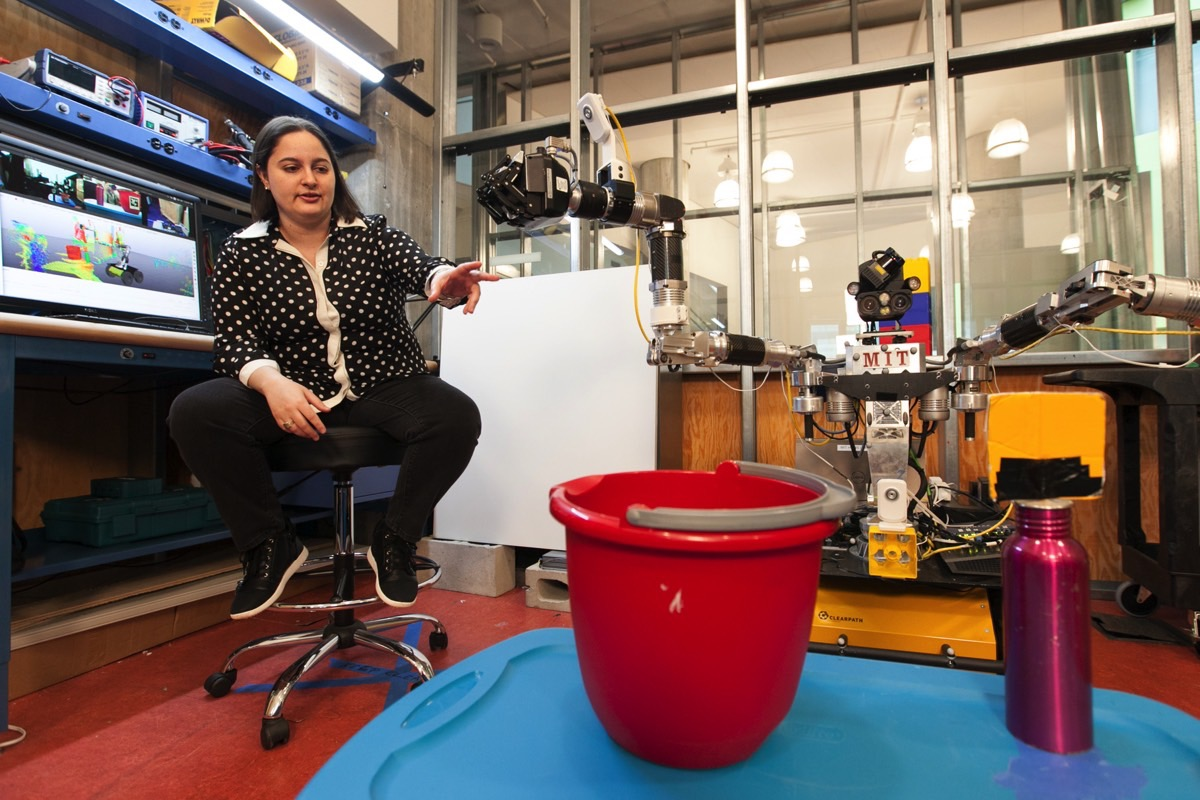 MIT CSAIL Human Teaching Robot