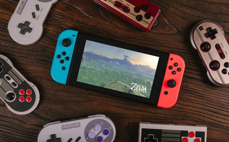 Nintendo Switch: 8bitdo retro controller
