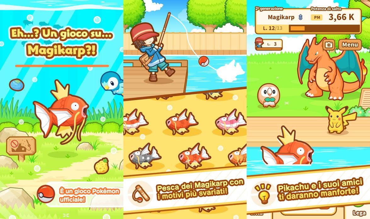 Pokemon: Magikarp Jump now available