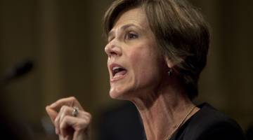 Sally Yates hearing