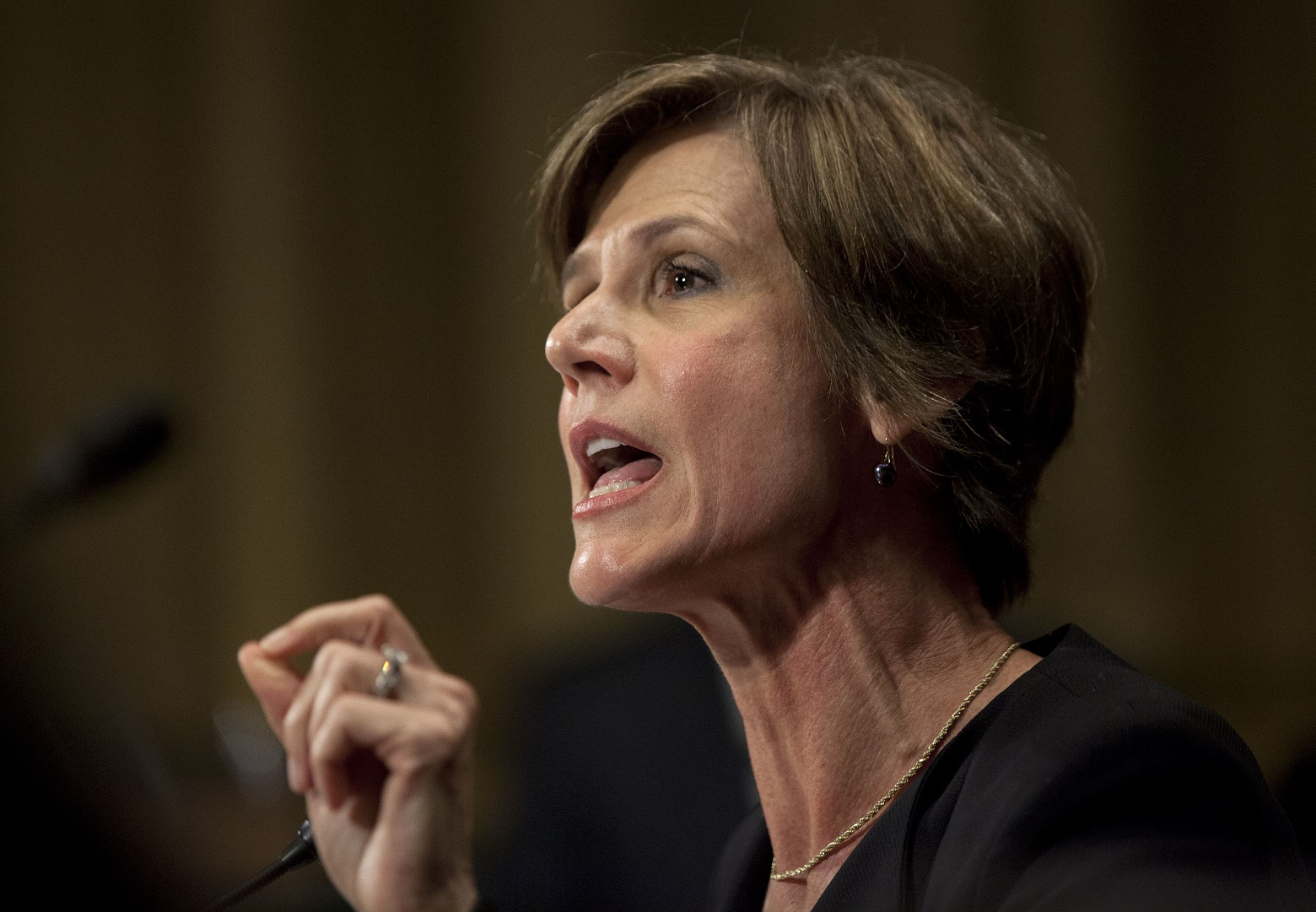 Sally Yates hearing