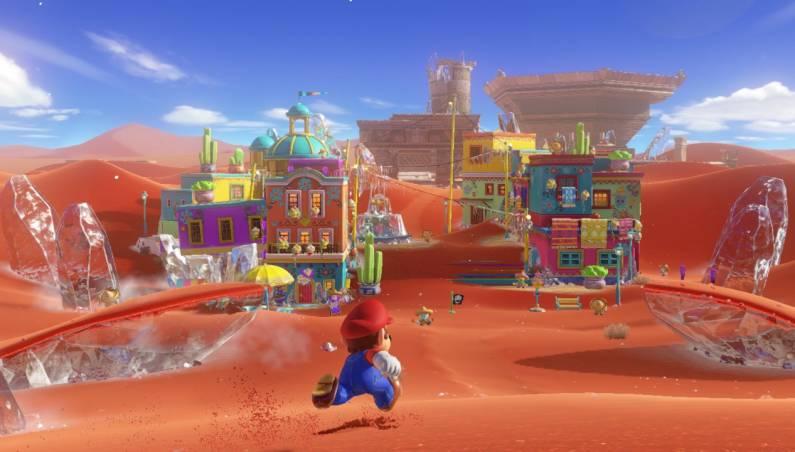 Super Mario Odyssey demo speedrun
