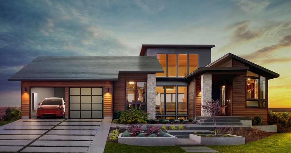 SolarCity Roof Tiles