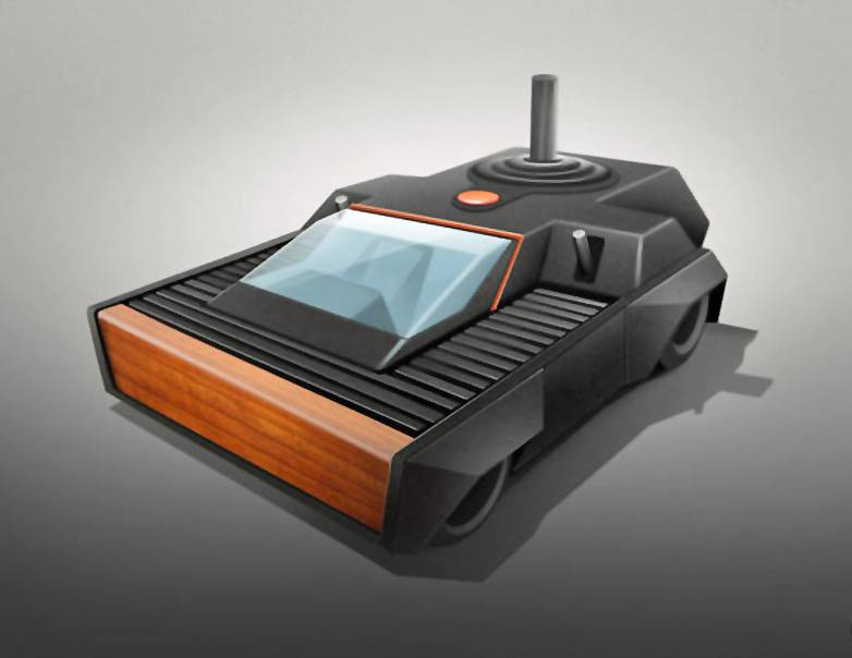 game console cars