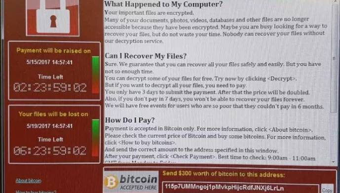 Wannacry the worst cyberattack ever