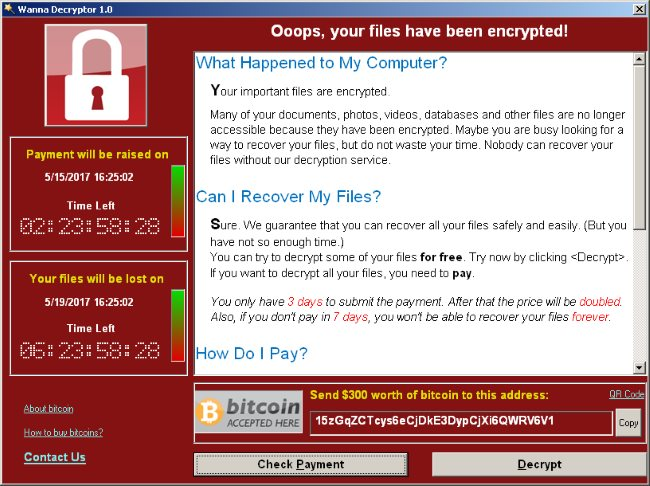 WannaCry ransomware might attack 1,3 million computer systems