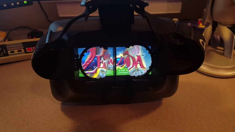 Nintendo Switch: VR headset hack