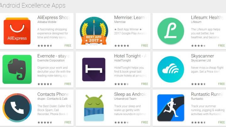 Google Play: Best apps