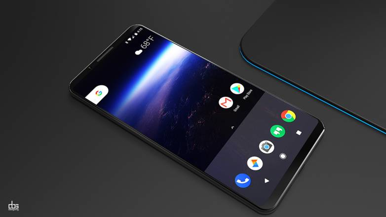 Google Pixel XL 2 Rumors Design