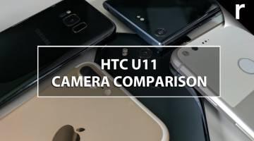 HTC U11 camera comparison vs iPhone 7 Plus