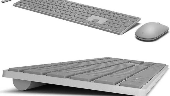 Microsoft Modern keyboard vs Apple Wired keyboard