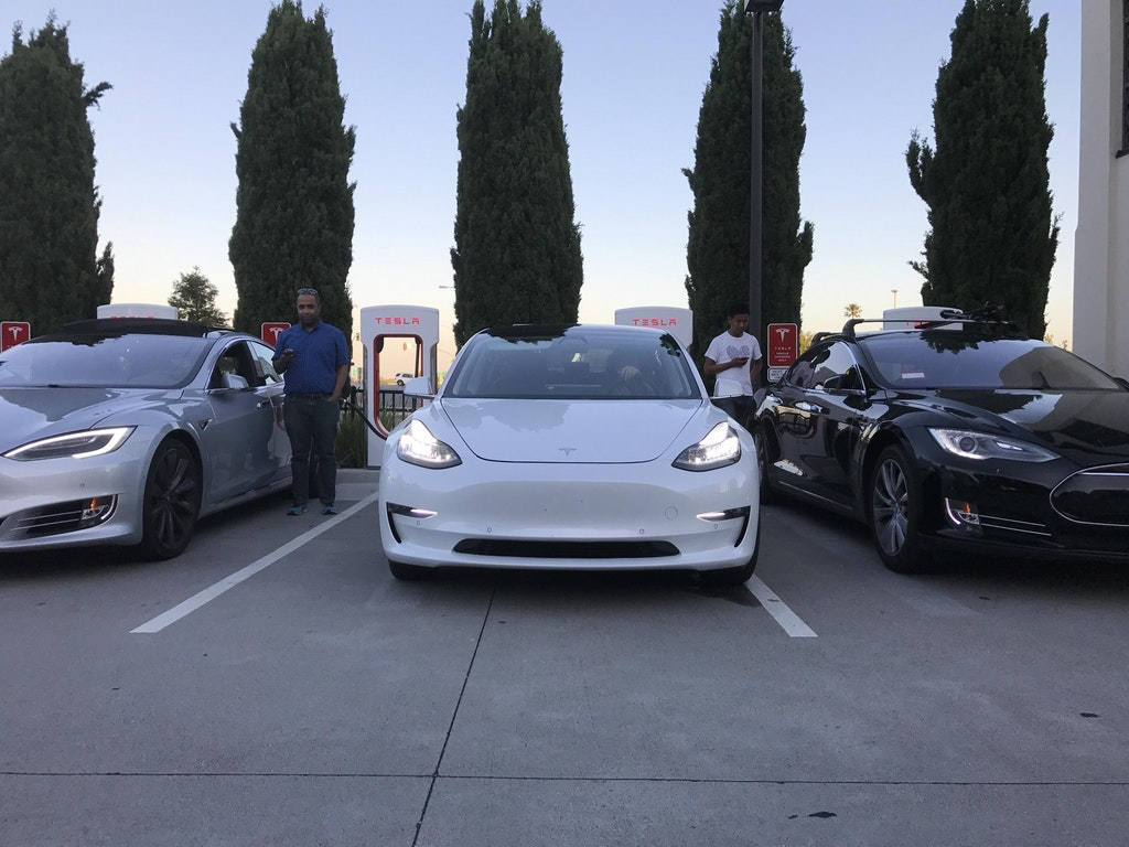 New photos show us what the final Model 3 design will probably look like