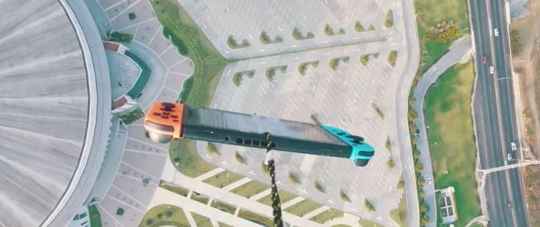 Nintendo Switch Drop Test 1,000 Feet