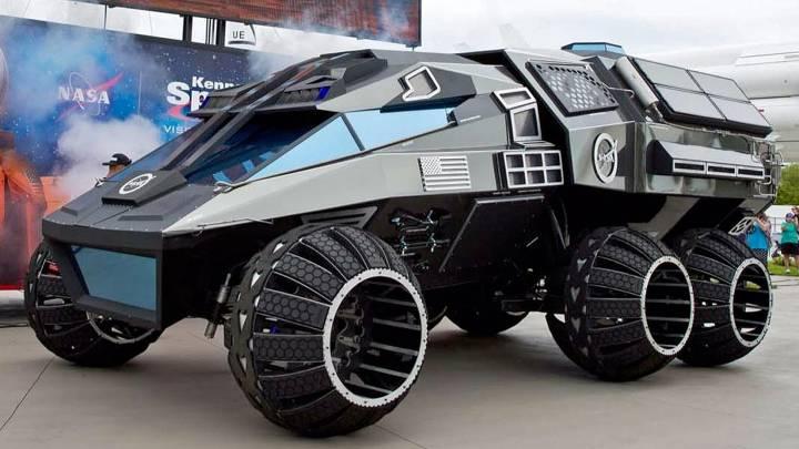 mars rover concept