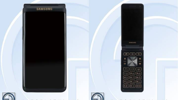 Samsung leak: Flip phone