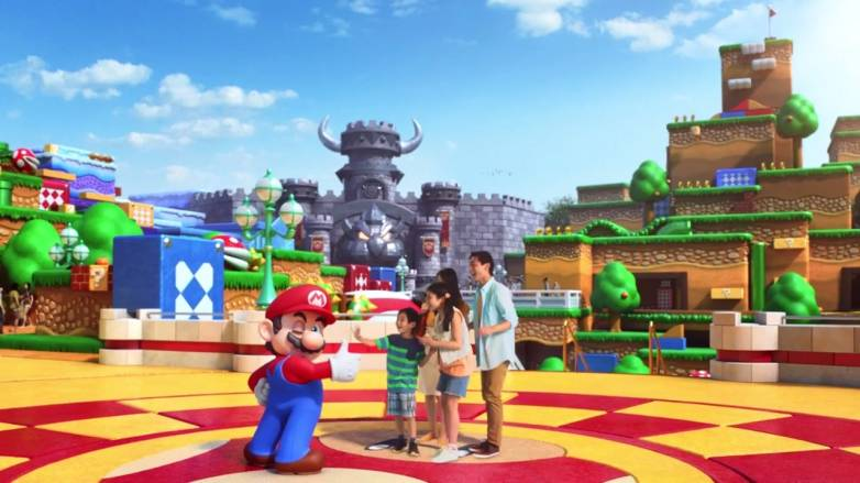 Super Nintendo World theme park