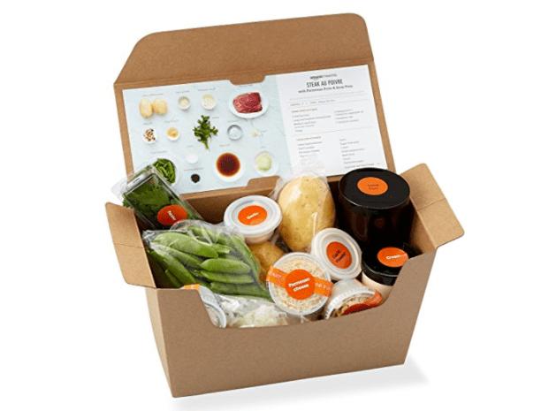 Amazon Meal Kits availability