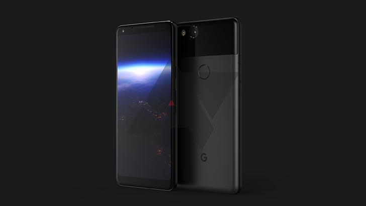 Pixel 2 XL leak images