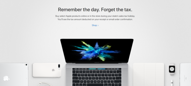 Apple sales tax weekend: eligible MacBooks, iPads