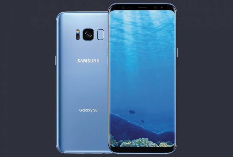 Galaxy S8 Coral Blue