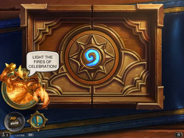 Hearthstone: Double gold rewards