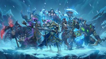 Hearthstone: Knights of the Frozen Throne expansion