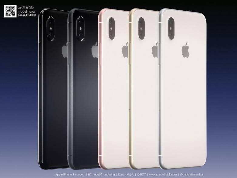 iPhone 8 Design Renders