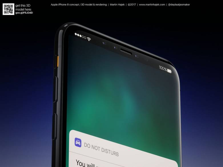 iPhone 8 3D sensor