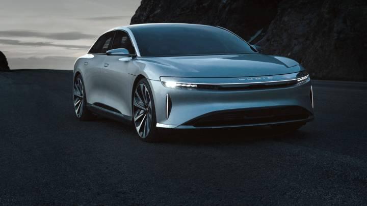 Lucid Air vs Tesla Model S: top speed video