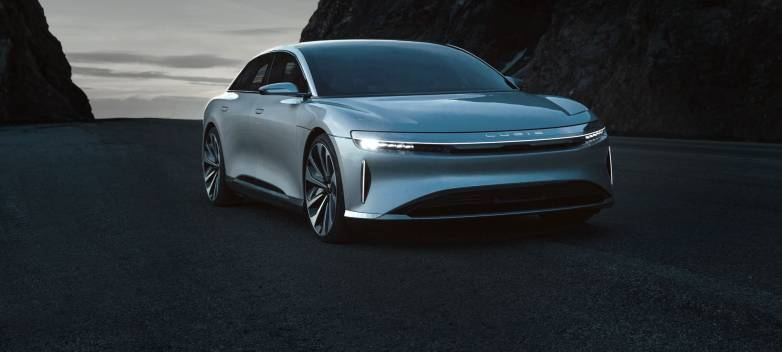Lucid Air vs Tesla Model S: top speed video