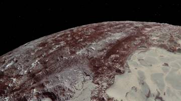 Pluto New Horizon flyby