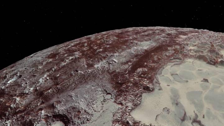 Pluto New Horizon flyby