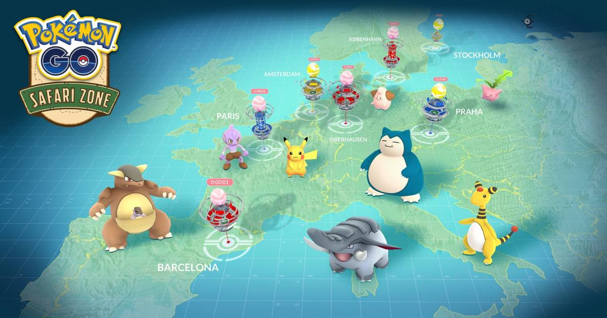 Pokemon Go worldwide events