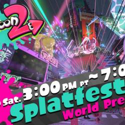Splatoon 2 Splatfest demo