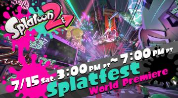 Splatoon 2 Splatfest demo