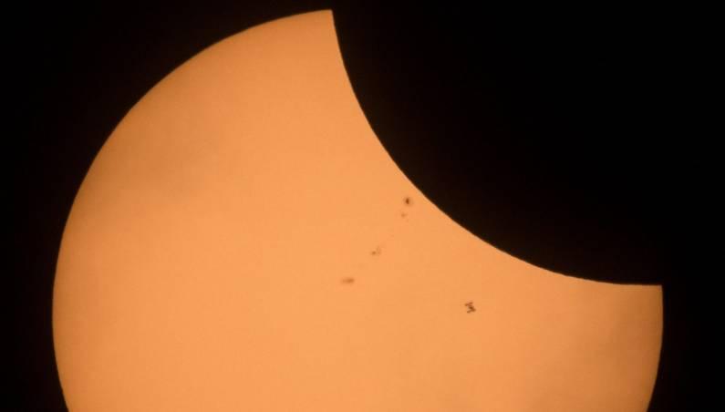 Solar eclipse best photo