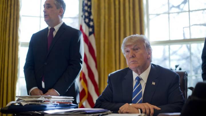 Intel Brian Krzanich and Trump