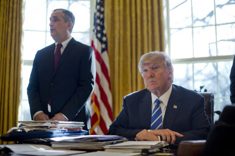 Intel Brian Krzanich and Trump