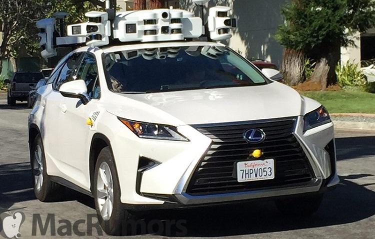 Apple self-driving car vs Waymo