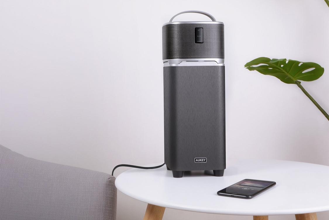 Wireless Speaker With Bass