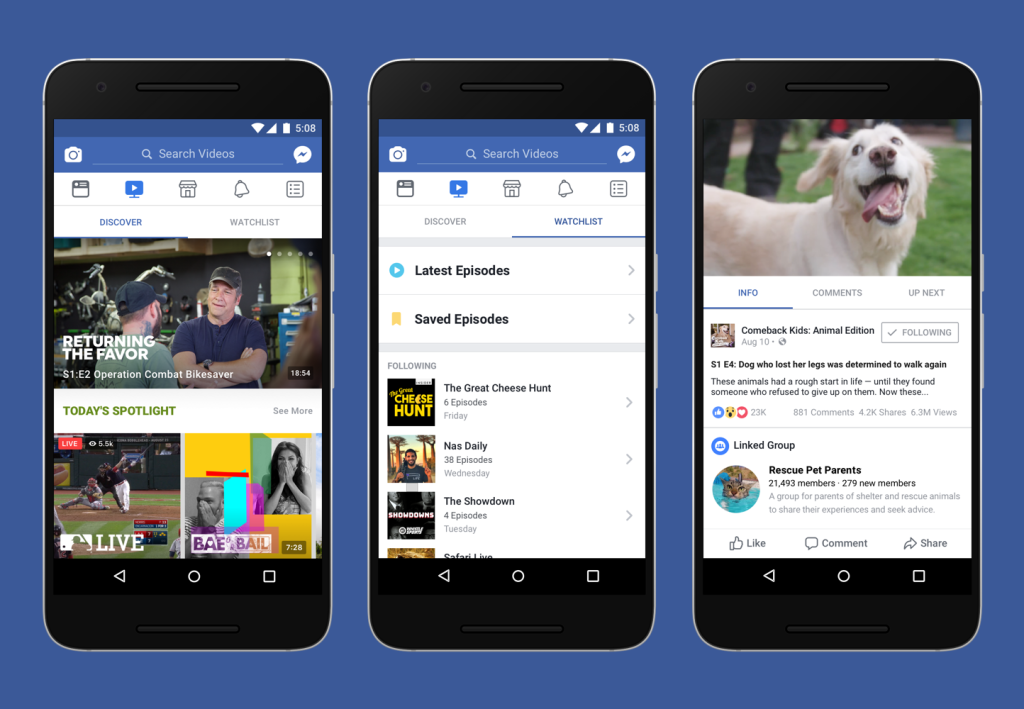 Facebook Watch struggling