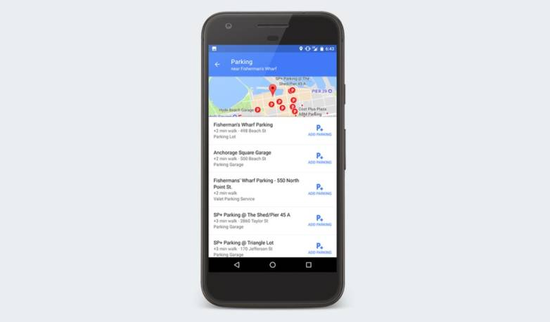 Google Maps: New feature
